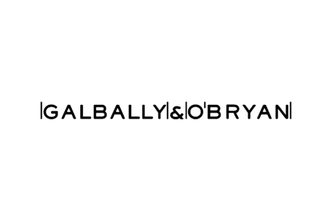 Galbally & O'Bryan Logo Black
